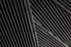 DETAIL ROC Plissé Noir Argent-1